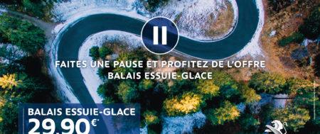 Faites une pause : Balais essuie glace 29.90€ *